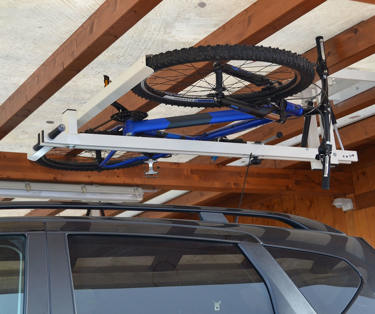 Ceiling Bike Lift For Garages Hallways Basements Flat