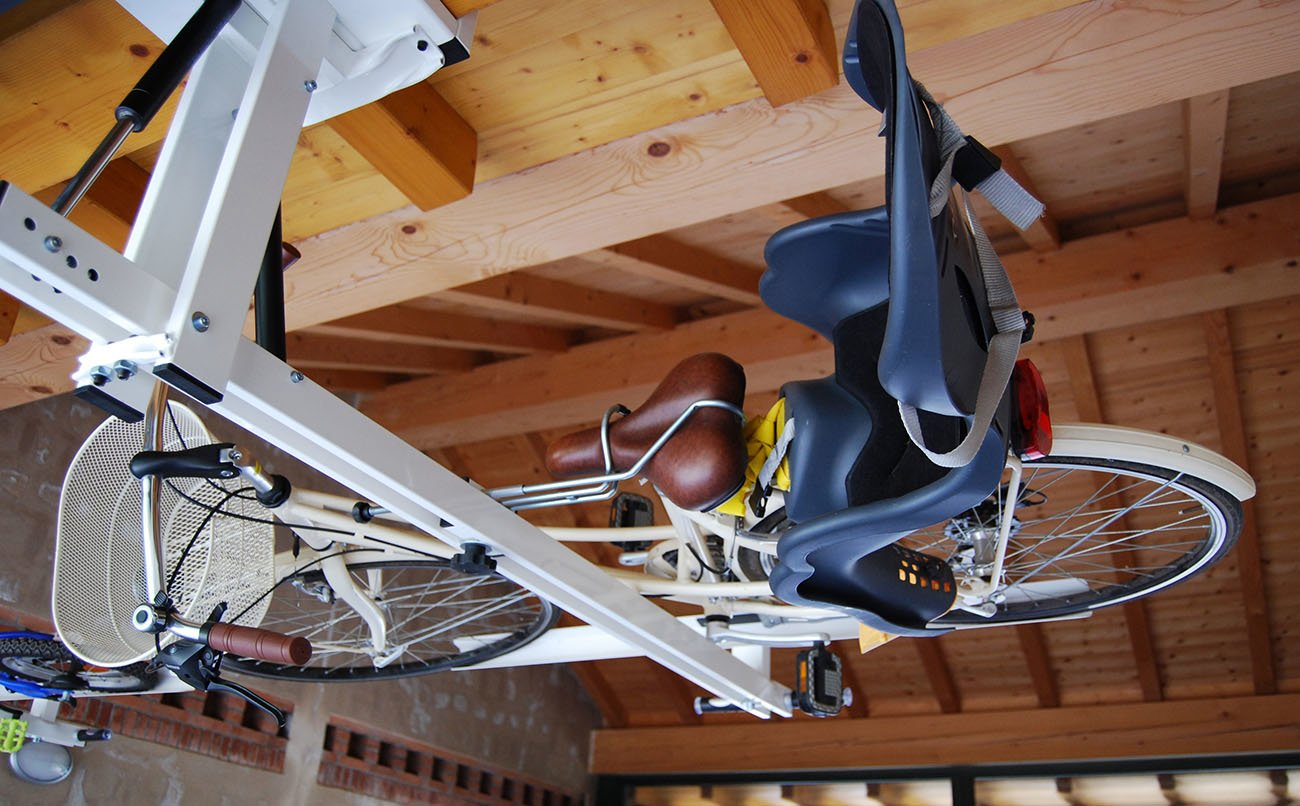 Ceiling Overhead Bike Rack For City Bike Flat Bike Lift