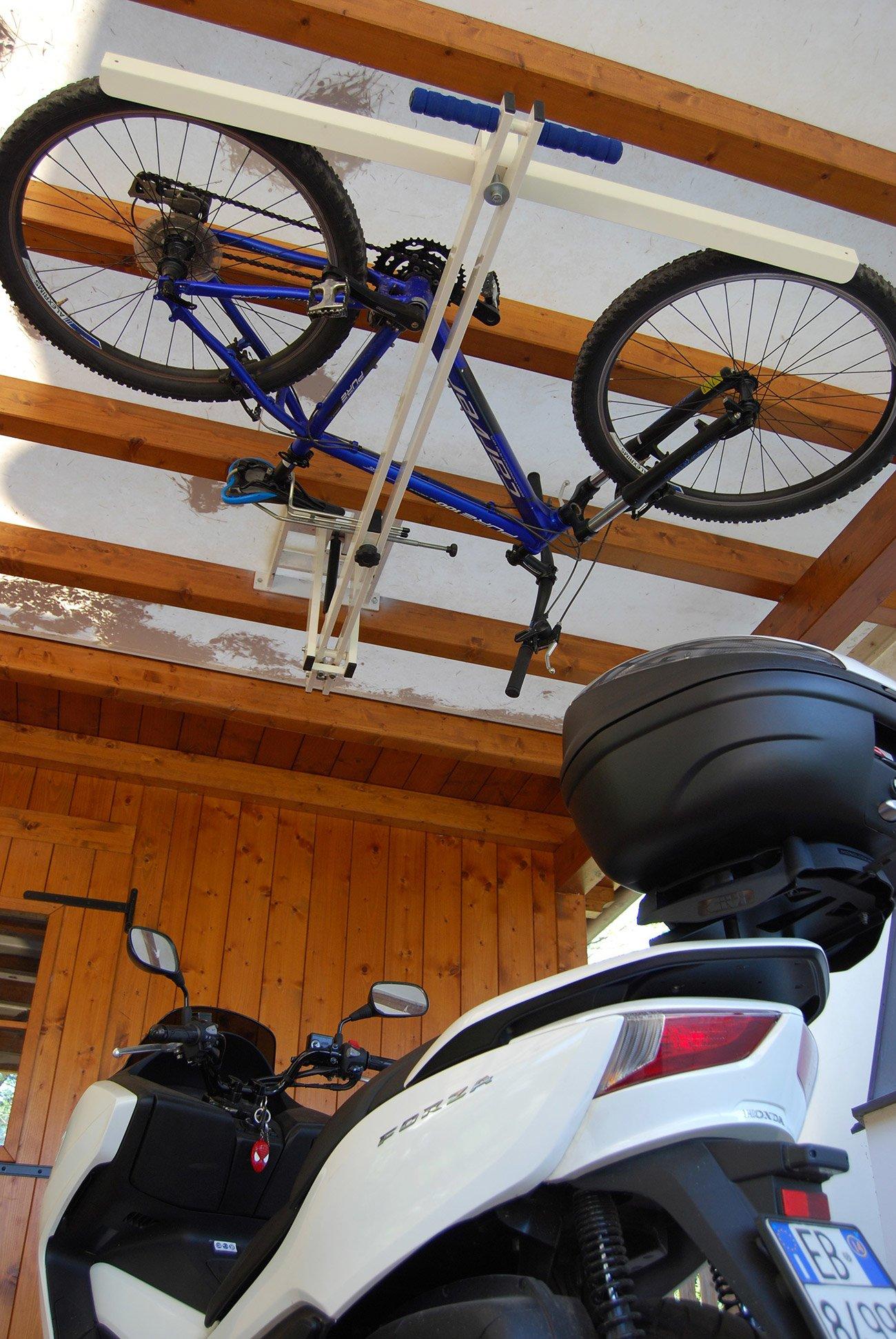 Ceiling Bike Lift For Garages Hallways Basements Flat